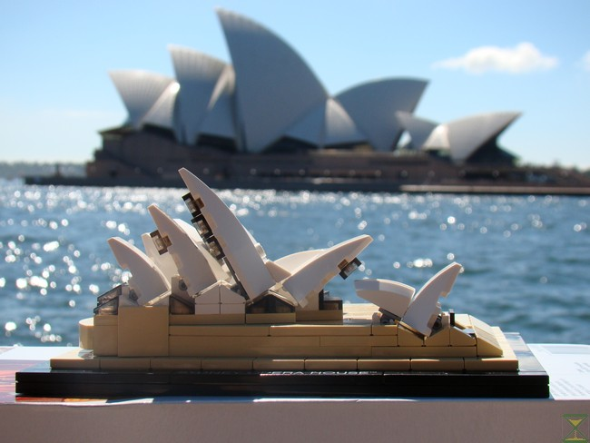 Review 21012 Sydney Opera House Special Lego Themes Eurobricks